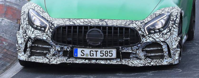 Mercedes-AMG GT R Spied In Motion测试Clubsport套餐